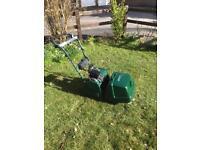 Atco balmoral 14se cylinder electric start self drive mower