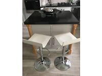 Pair of contemporary kitchen stools/chairs