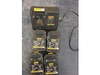 Batteries and charger