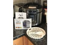 Pressure King Pro | 5 litre capacity | 12-in-1 | Barely used | As seen on TV