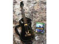 Guitar Hero Live Game and Guitar Xbox One