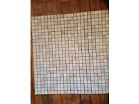 Mosaic stone tiles on mesh 70 in total new was 700 pound 200 pound no offers
