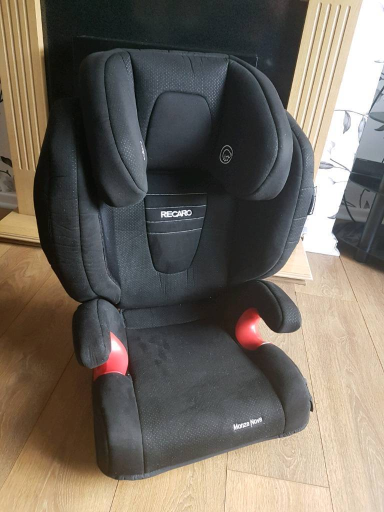 recaro mozza nova 2 car seat with headrest speakers nearly new in oldham manchester gumtree. Black Bedroom Furniture Sets. Home Design Ideas