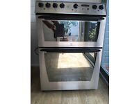 Freestanding electric oven grill and ceramic hob