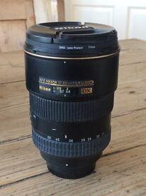 Nikon 17-55 mm lens 2.8 AF-S DX