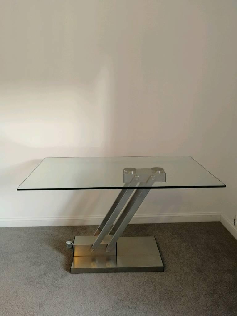 Modern Glass Convertible Coffeedining Table From Dwell In Portobello Edinburgh Gumtree