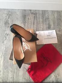 Christian Louboutin Pigalle 100 mm size 38