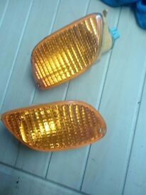ford focus indicator units orange left and right 1998-2004