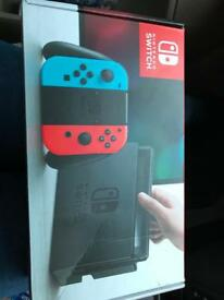 Nintendo switch basically new used once