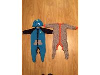 Baby Boys sleepsuits bundle from Next 6-9 mths