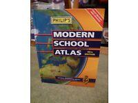 'Phillips' Modern School Atlas Book, published 2006
