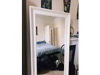 IKEA Hemnes Mirror - White Frame
