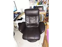For sale Fake leather reclining Chair.