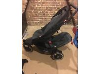 Phil and Teds double buggy Dot travel system with accessories