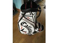 Callaway X Hot tour bag cover and carry strap