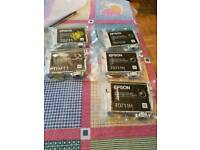 Epson black ink printer cartridges