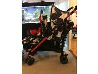 Cosatto double tandem pushchair