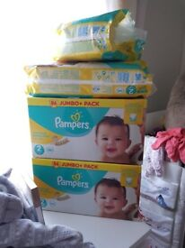 Size 2 Pampers Nappies