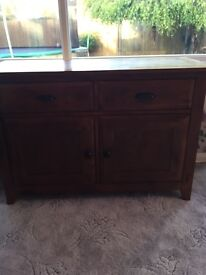 Stunning solid wood sideboard cabinet