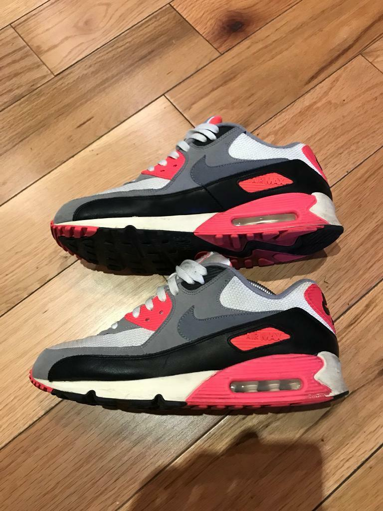 buy online 054fb c54fe 2013 Nike Air Max 90 - Infrared size 10