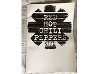 Red Hot Chilli Peppers 2004 tour programme