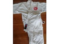 Karate suit and equipment