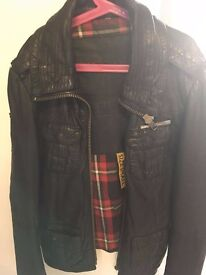 Ladies Superdry Leather Jacket, great condition
