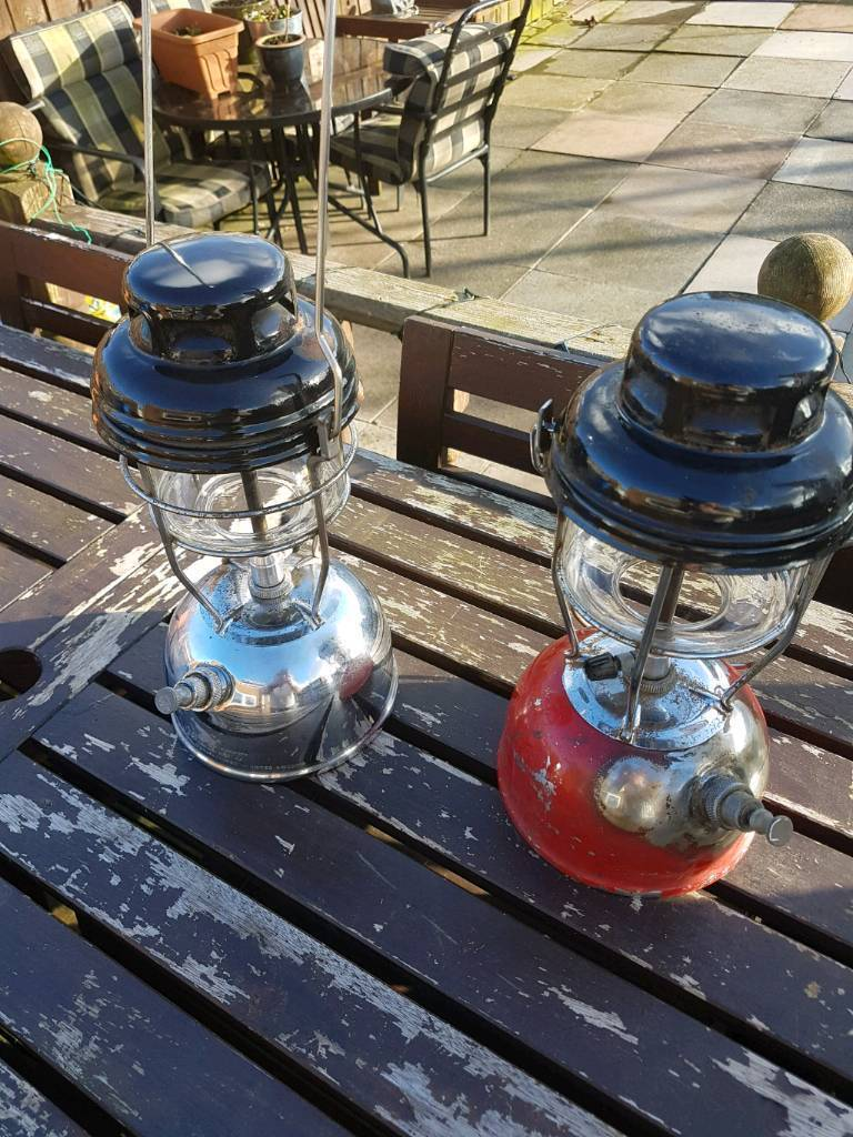 2x fishing Tilley lamps