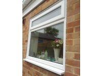 UPVC double glazed windows - white