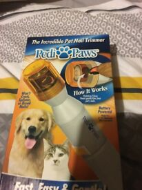 Pet nail trimmers brand new in box