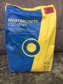 26 bags of Mastercrete Cement