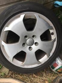 "Audi 17"" wheels"