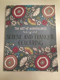 Brand new Mindfulness colouring book