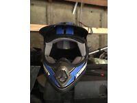 Child's motorcycle helmet