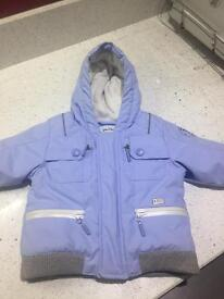 Baby Dior Winter jacket. Age 3-6 months. Worn only twice. Paid £300, selling for £60