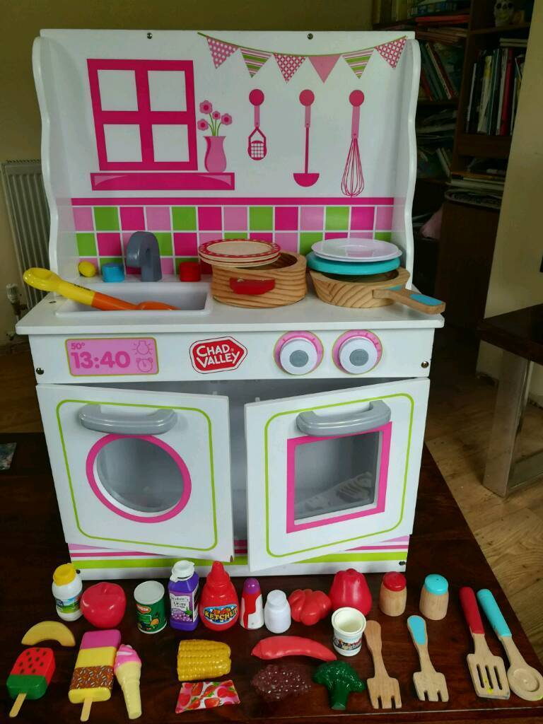 Chad Valley 2 In 1 Wooden Dolls House And Kitchen Playset In Brighton East Sussex Gumtree