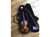 Stentor Student II violin 1/2 size and additional chin rest