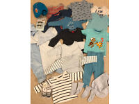 Baby Boys Bundle of Clothing, 0-3 Months, 20 items