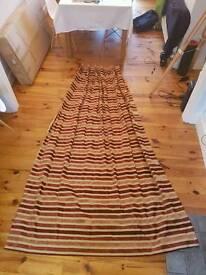 2 (pair) blackout curtains - L240cm, width top 60cm, width bottom 150cm