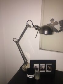 Ikea Silver Desk Lamp