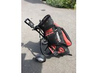 Great Golf Cart Bag Cost £140 New Will Include Trolley