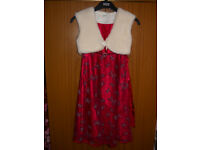 Girl's Party Dress - Red