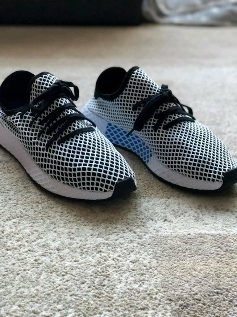 f2abb8edb Adidas Deerupt runner trainers size 10