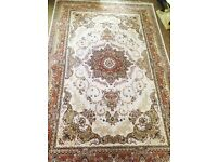 PERSIAN RUG*RRP £1000 *3M X 2 M*USED FOR ONE YEAR-EXCELLENT CONDITION