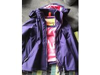 Superdry ladies windcheater Large barely worn