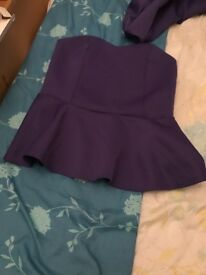 Two piece purple set