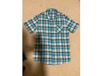 12-13 years short sleeved shirt