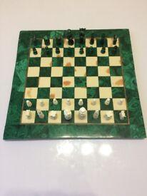 Malachite Chess Board