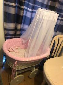 Baby girl Spanish crib £60