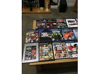 PlayStation 2 with wireless control and memory card and bundles of games